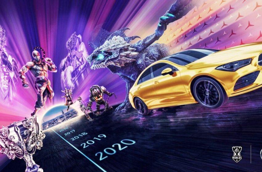 Mercedes-Benz Tampil Dalam Preview Event League of Legends World Champhionship 2020