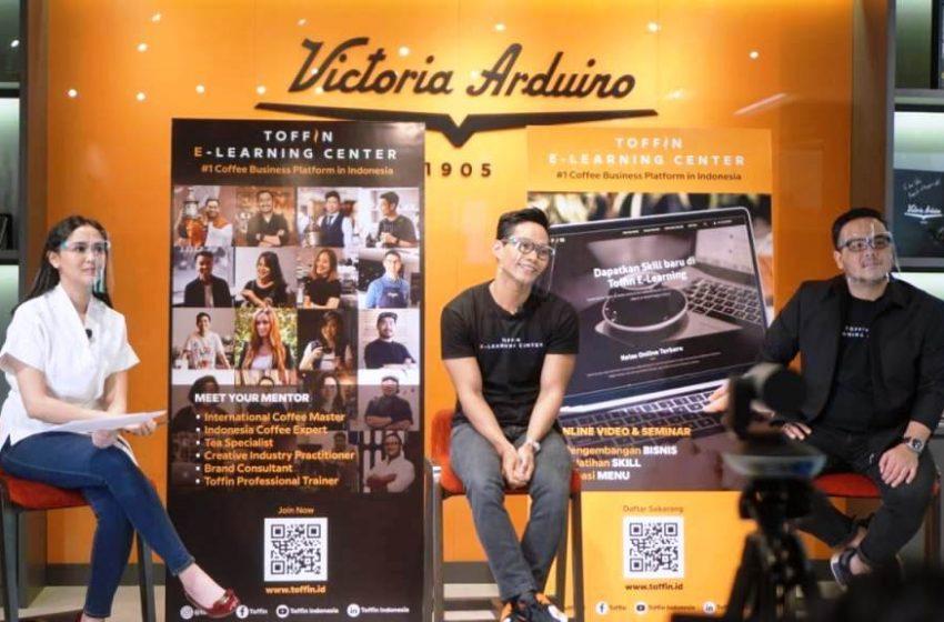 Toffin Indonesia Luncurkan Toffin E-Learning Center Platform Digital Untuk Pengembangan & Pelatihan Di Industri Kopi