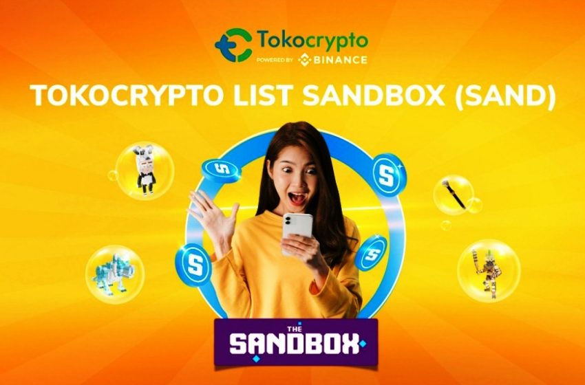 Tokocrypto  Resmi Perdagangkan Token SANDBOX (SAND)