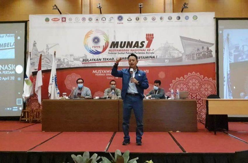 Munas FSPPB Kembali Tunjuk Arie Gumilar Sebagai Presiden