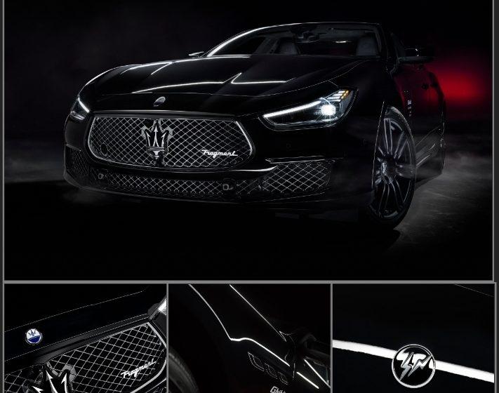 Kolaborasi Dua Model Maserati Ghibli Dengan Gaya Streetwear Milik Hiroshi Fujiwara Bermerek 'Fragment'