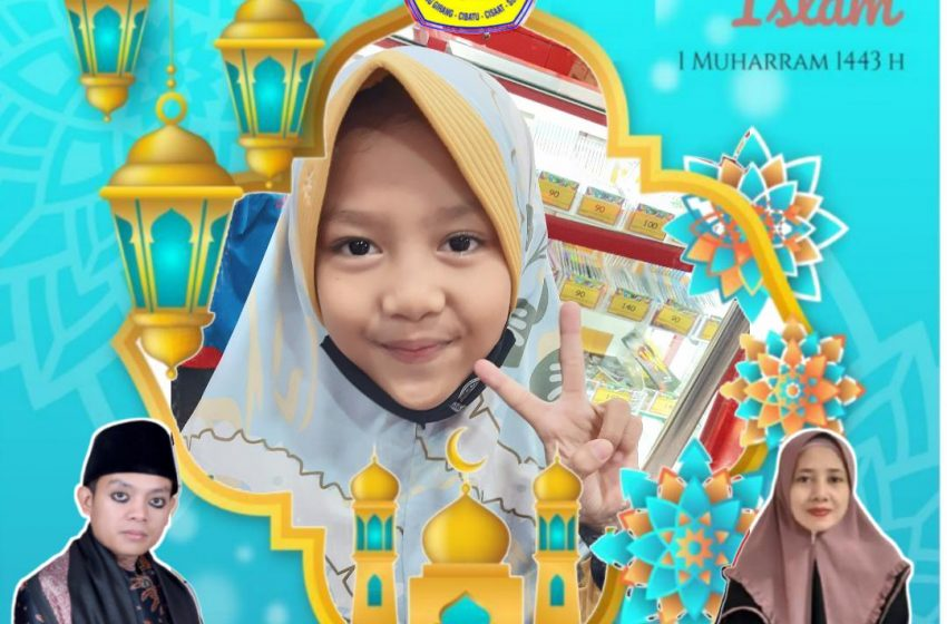 Tahfidz Al-Qur'an Fathiyyah Zahra Abdul Karim Sampaikan Ucapan Selamat Tahun Baru Islam 1443 H