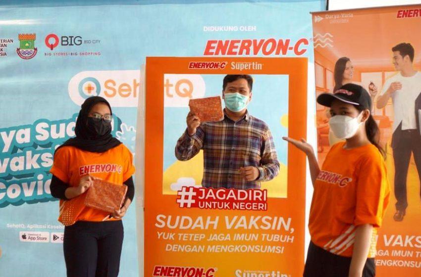 SehatQ dan Enervon-C Buka Sentra Vaksinasi di Tangerang