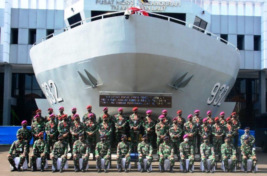 Komandan PUSHIDROS TNI AL Buka Pelatihan Pemantapkan Pengetahuan Hidro Oseanografi Pasukan Khusus TNI AL