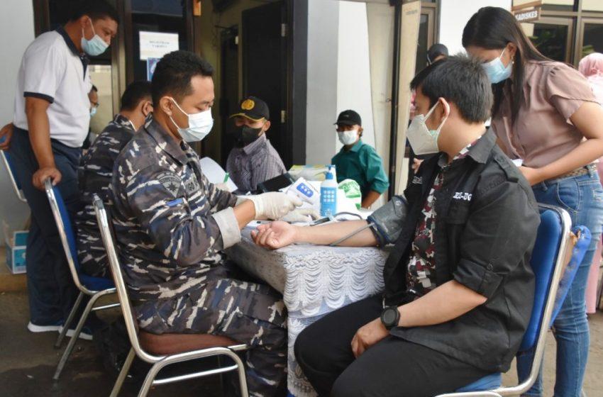 PUSHIDRO TNI AL Tetap Gencarkan Vaksinasi Di MAKO