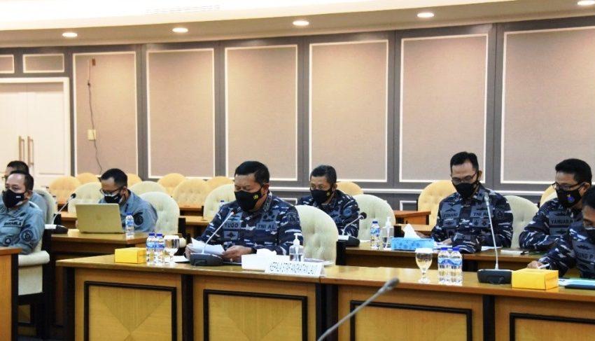 TNI AL Sampaikan Masukan Pada Rapat Kerja PANSUS RUU Landas Kontinen DPR RI