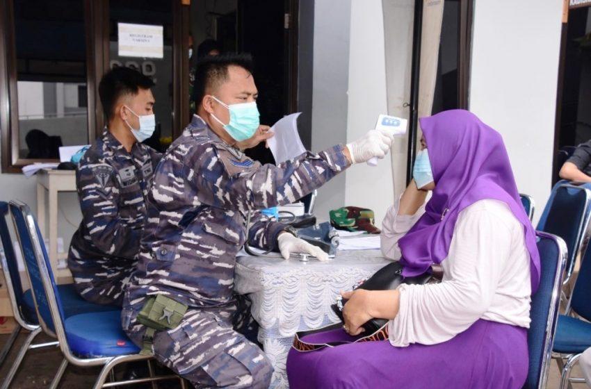 Demi Wujudkan Herd Immunity, PUSHIDROS TNI AL Terus Gencarkan Vaksinasi