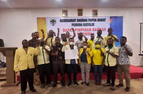 Gusma Putra Papua Deklarasi Maju sebagai Caketum Pemuda Katolik
