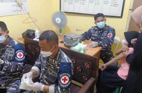 Vaksinasi Covid-19 TNI AL Di Kabupaten Bogor Terus Digalakan