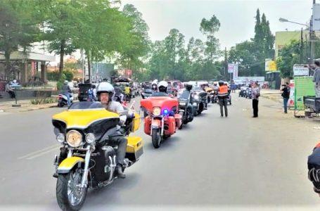 Etape III – Indonesia Rally 2021 Tiba Di Kota Lampung, Sekaligus Lantik Kepengurusan HDCI Pengda Lampung